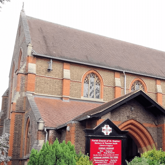 St Stephen Norbury and Thornton Heath cause logo