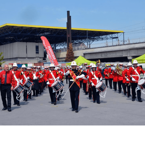 Medina Marching Band, Isle of Wight