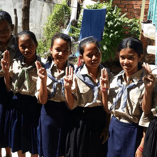 Girl Guiding Cambodia 2018 - Heather Gilbert