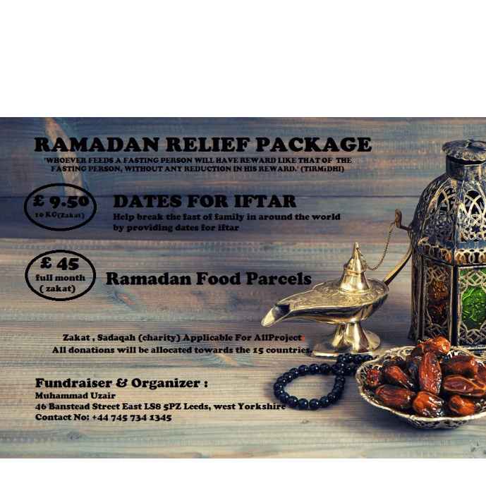 RAMADAN RELIEF PACKAGE - Muhammad Uzair