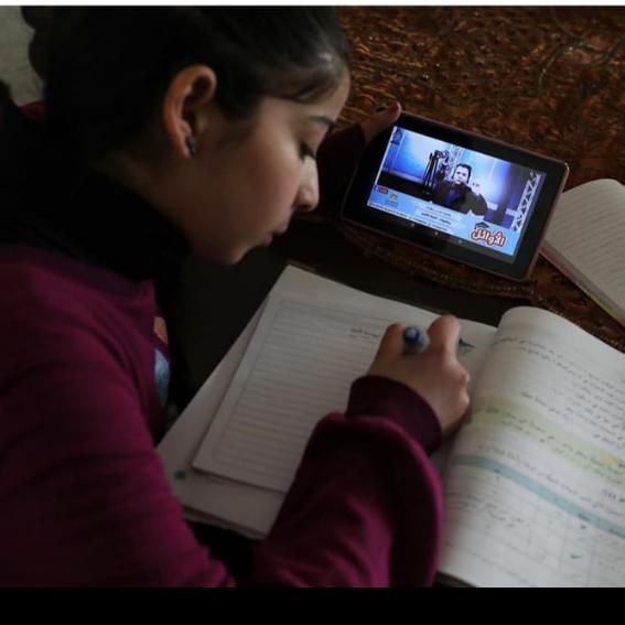 Rahma Abuawwad raising funds for students in Gaza