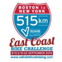 Velindre Cancer Centre Bike Challenge 2014 - Christian Bright