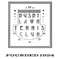 Busby Tennis Club cause logo
