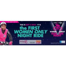Women V Cancer Ride the Night 2014 - Gail Hudson