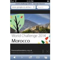 World Challenge Morocco 2014 - Charlie Elston