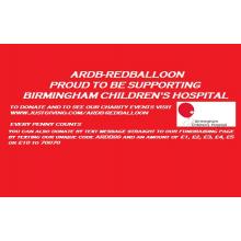 ARDB-Redballoon for Birmingham Childrens Hospital ( Cancer Appeal )