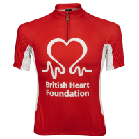 Cycling France for British Heart Foundation 2014 - Ying Jin