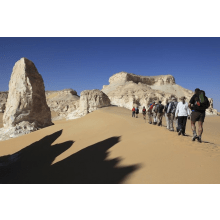 Sahara Desert Trek for Little Haven's Childrens Hospice 2014 - Debbie Whitehead