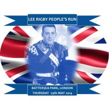 Lee Rigby People's Run 2014