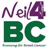 Charity Runner Neil : London Marathon 2015 for Bowel Cancer UK - Neil Howie
