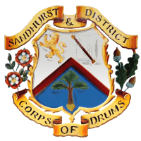 Sandhurst and District Corps of Drums cause logo
