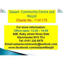 Salam Community Centre and Masjid