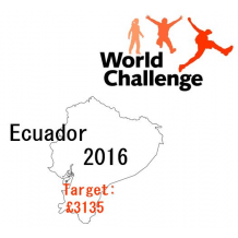 World Challenge Ecuador 2016 - Emily Dodd