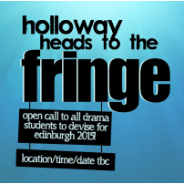 Holloway Heads to the Fringe!
