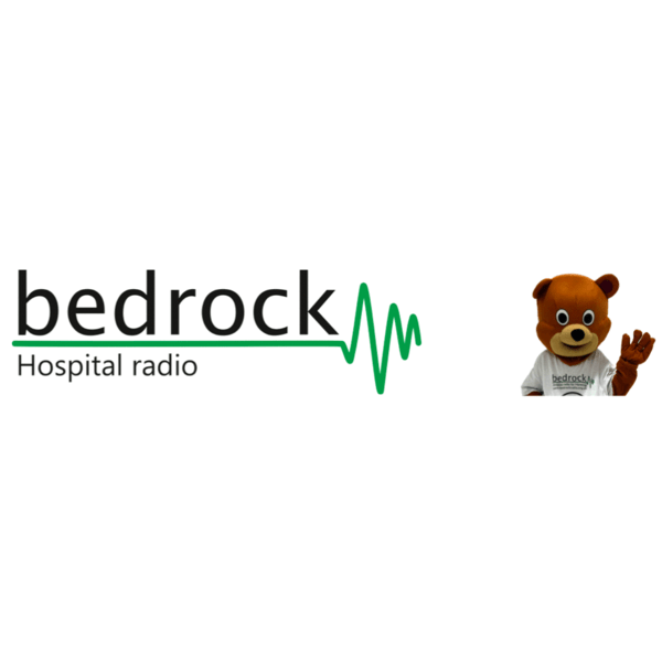 Bedrock Hospital Radio cause logo