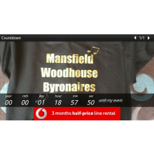 Mansfield Woodhouse Byronaires