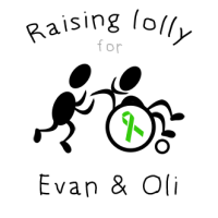 Raising Lolly for Evan and Oli