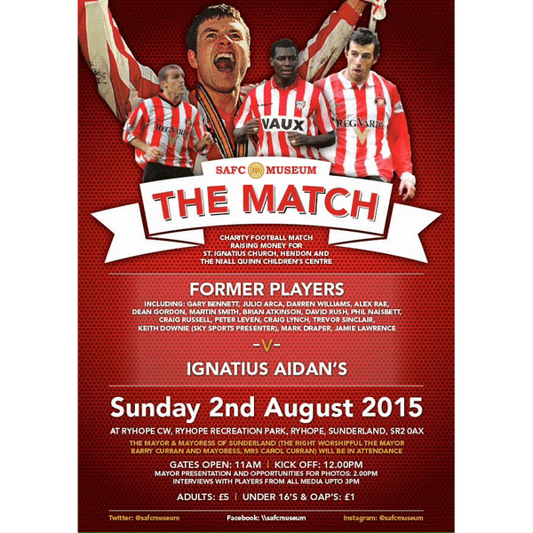 #TheMatch (SAFC Museum)
