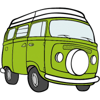 Little Green Bus