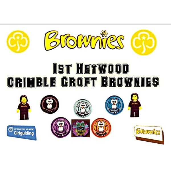 1st Heywood Crimble Croft Brownies