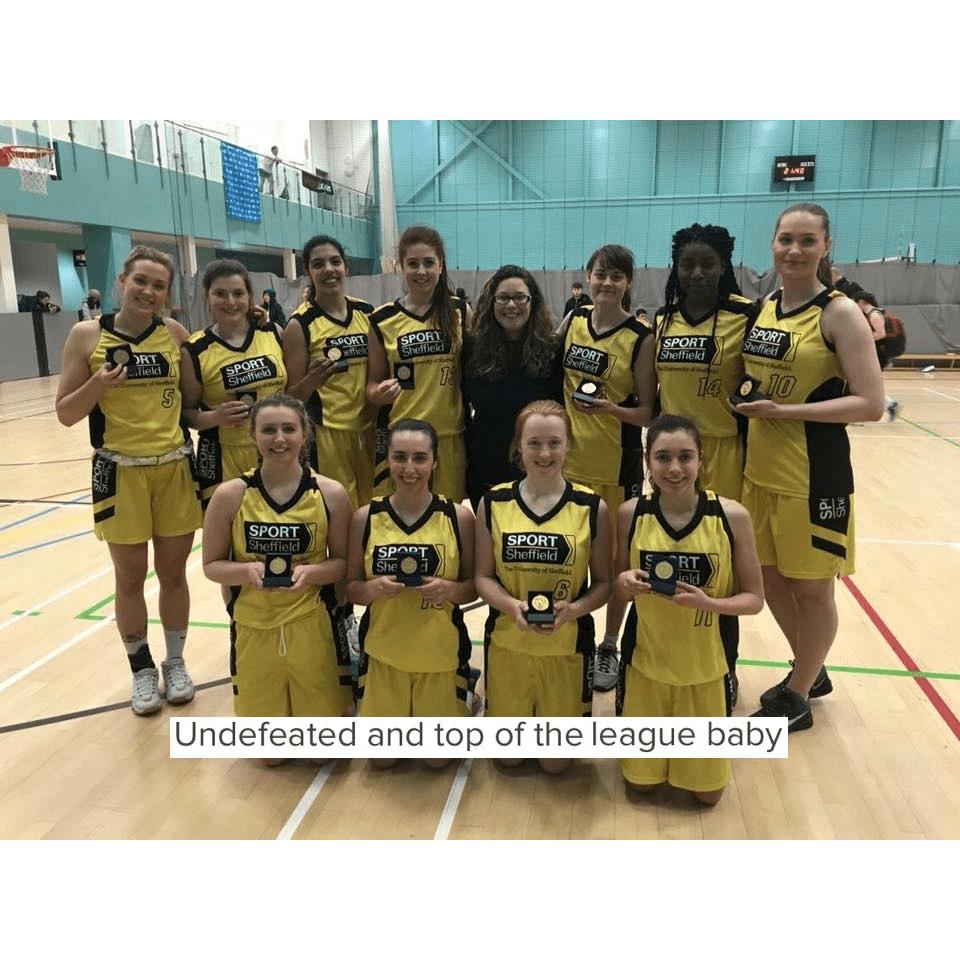 University of Sheffield Women's Basketball - USWB