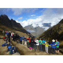Trekking the Inca Trail 2015 for Macmillan Cancer Support - Zoe Roche