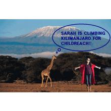Climbing Kilimanjaro 2016 for Childreach International - Sarah Rowan