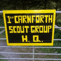 1st Carnforth Scout Group cause logo