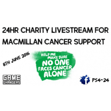 Macmillan Cancer Support Game Changers - Andy Morgan