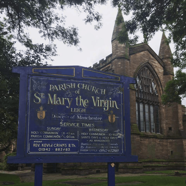 St Mary the Virgin, Leigh Parish Church - Lancashire