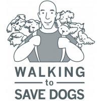 Walking To Save Dogs cause logo