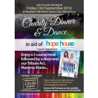 Hope House Charity Dinner - 22nd September 2017