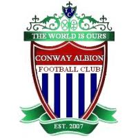 Conway Albion Football Club cause logo