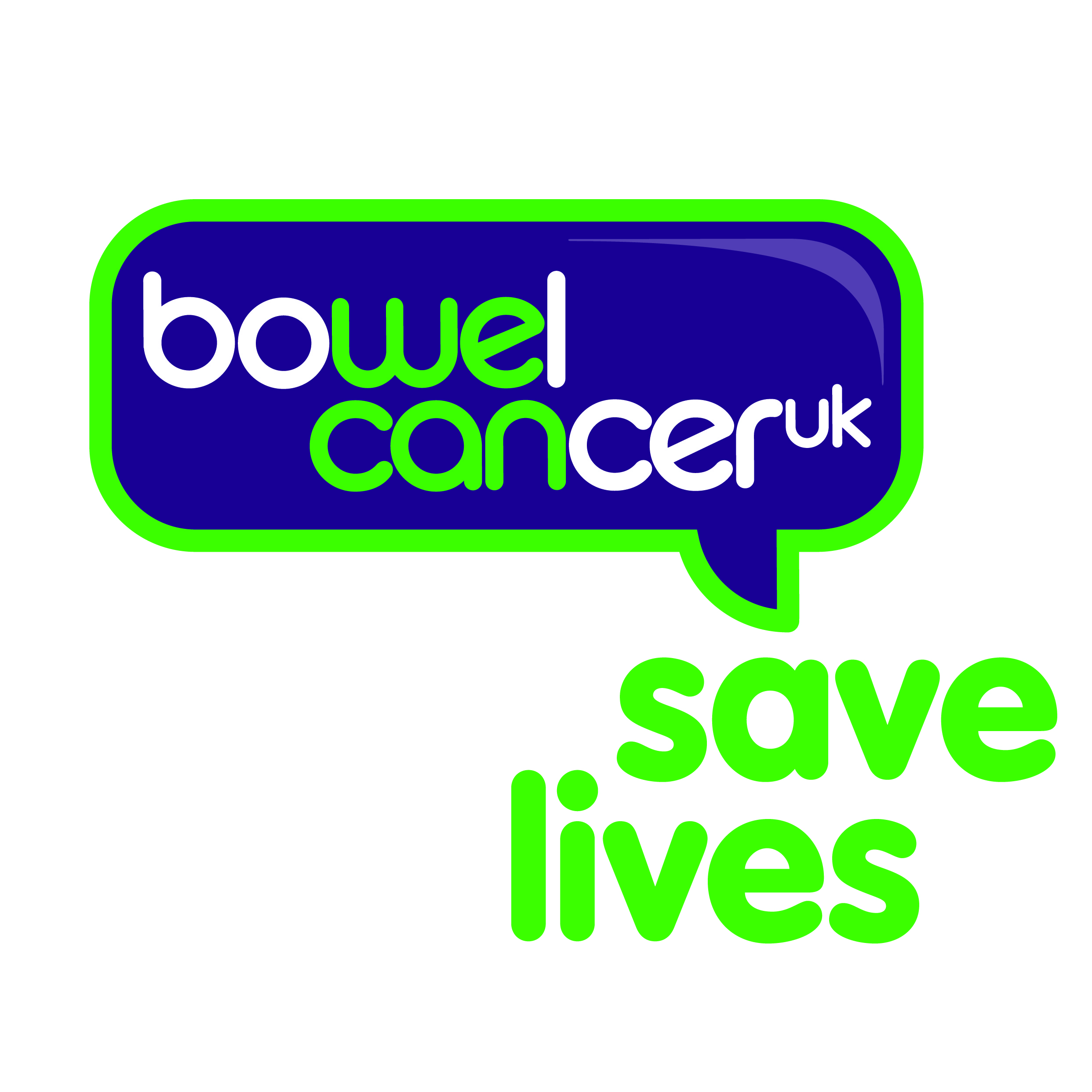 Bowel Cancer UK cause logo