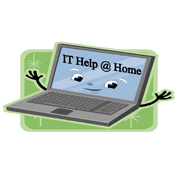 IT Help@Home cause logo