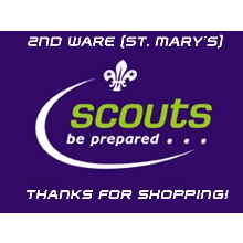 2nd Ware (St Mary's) Scout Group cause logo
