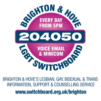 Brighton & Hove LGBT Switchboard