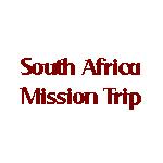 Christ Church Exmouth South Africa Mission