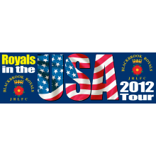 Royals In The USA 2012