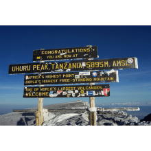 Childreach International Climb Kilimanjaro 2012 - Nikki Clodfelter