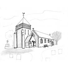 St Llonio's Church - Llandinam