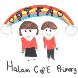 Halam C of E School PTFA cause logo