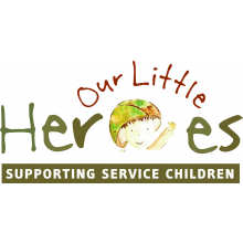 Our Little Heroes- Supporting Service Children cause logo