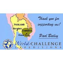 World Challenge : Cambodia : Paul Bailey