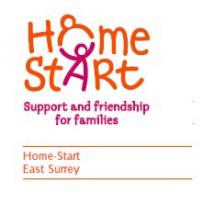 Home-Start East Surrey cause logo