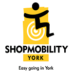 Shopmobility York cause logo