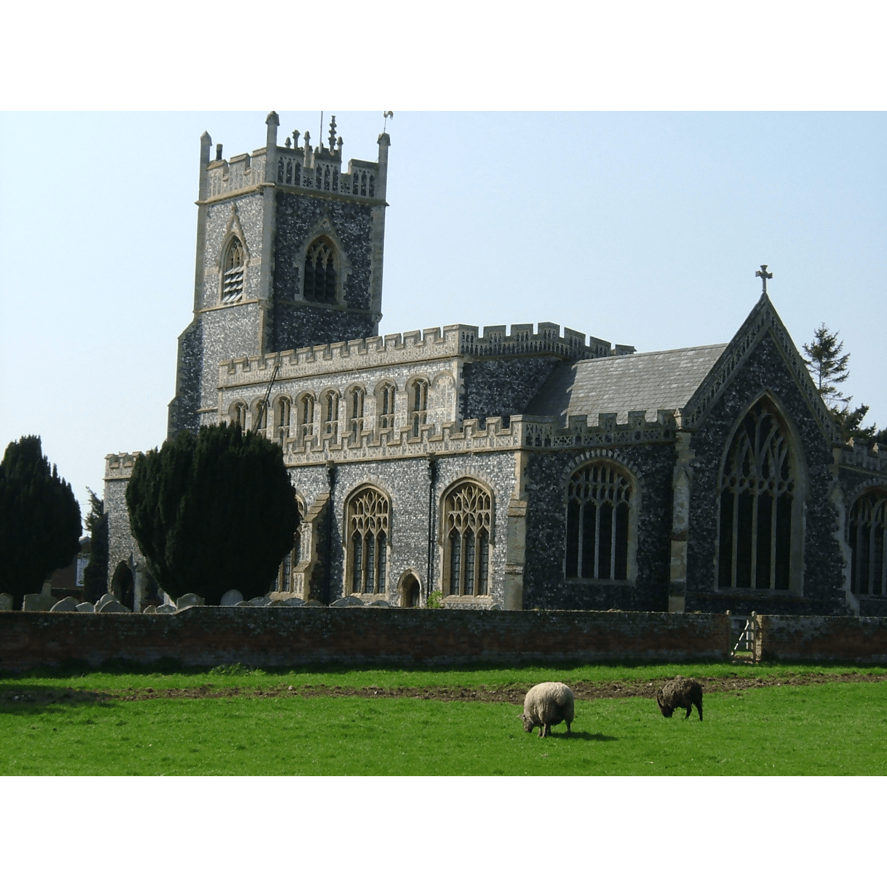 Stratford St Mary Church - Suffolk