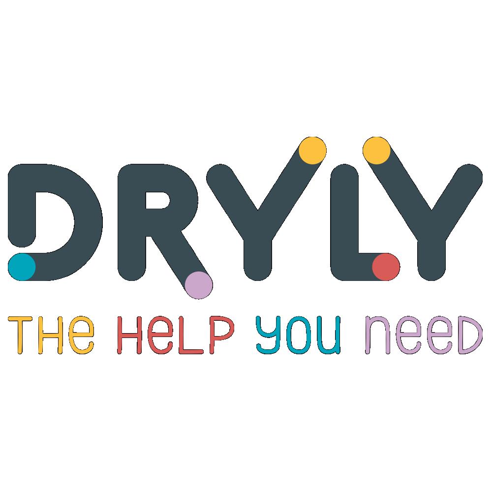 Dryly